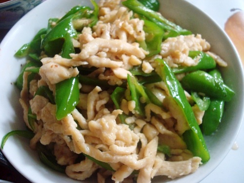 Chinese Chicken Green Chilli