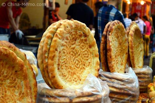 Xian Muslim Street Flat Bread
