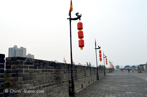 China Xian City Wall
