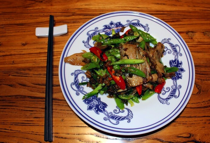 Sichuan Twice Cooked Pork Belly