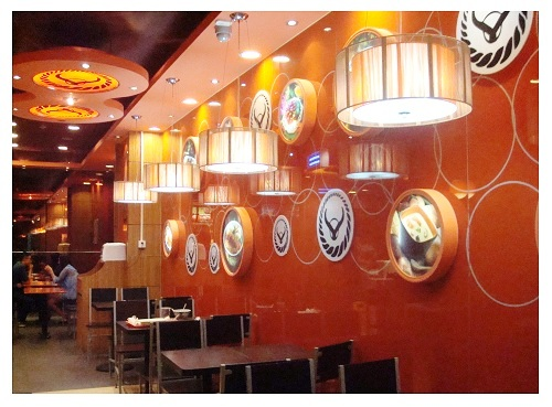 Beijing Japanese Meal Inside Layout.