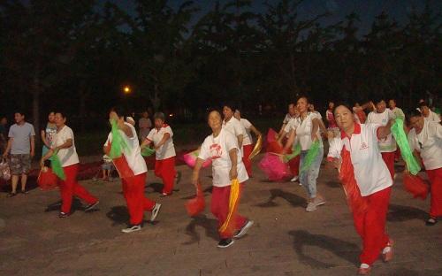 Chinese Yangge Dance.
