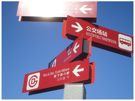 Beijing Road Signs.