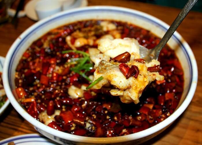 Sichuan Dish Boiled Fish