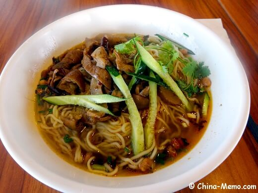 China Guizhou Pork Intestine Noodle Soup
