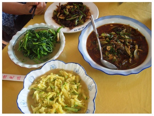 China Hunan Farmhouse Food.