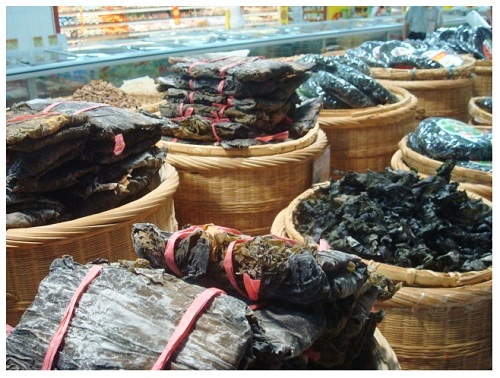 China Food Supermarket Dried Sea Veges.