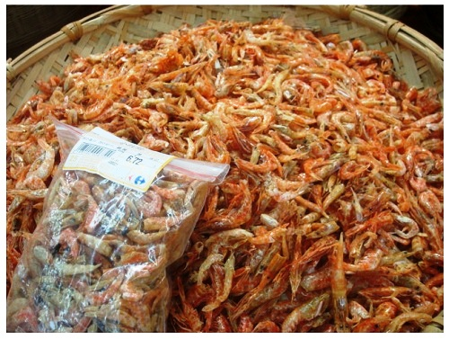 China Food Supermarket Dried Shrimps.