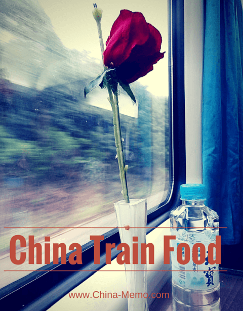 China Train Dining Car Table