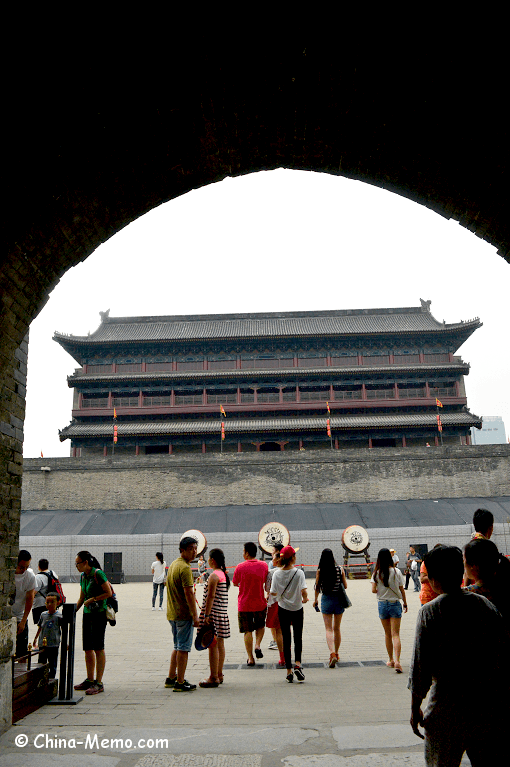 China Xian City Wall East Gate