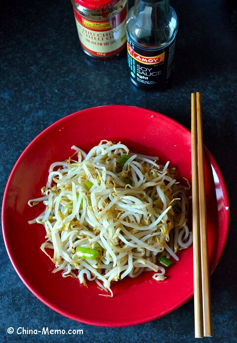 Sichuan Bean Sprout Salad