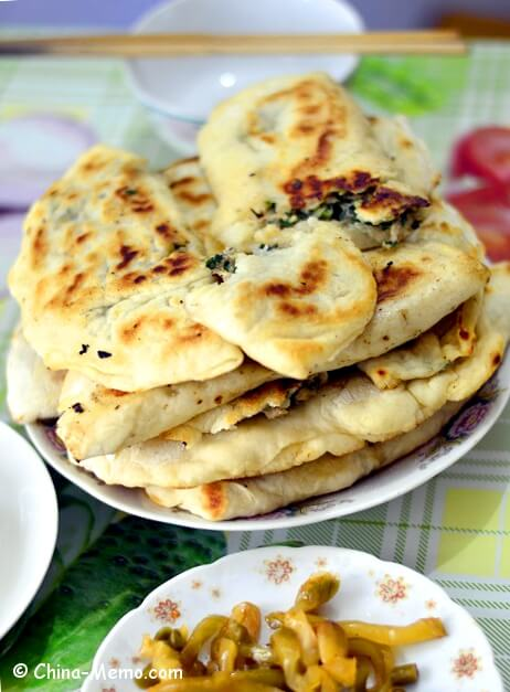 Chinese Pork Chive Pancake by Pressure Cooker