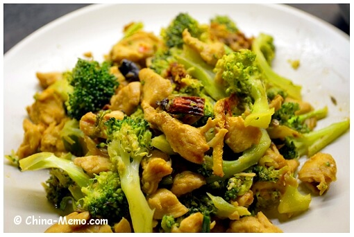 Chinese Chicken Fried Broccoli.