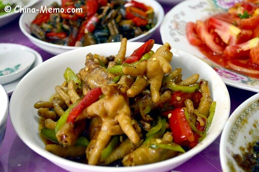 Chinese Chicken Feet Dish