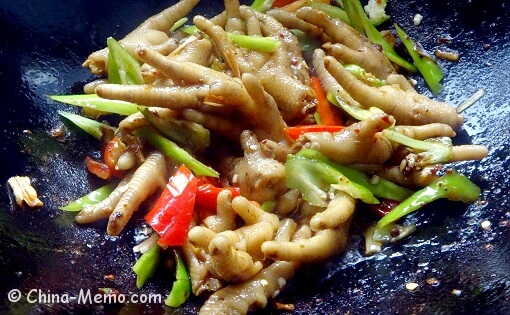 Chinese Chicken Feet with Chilli