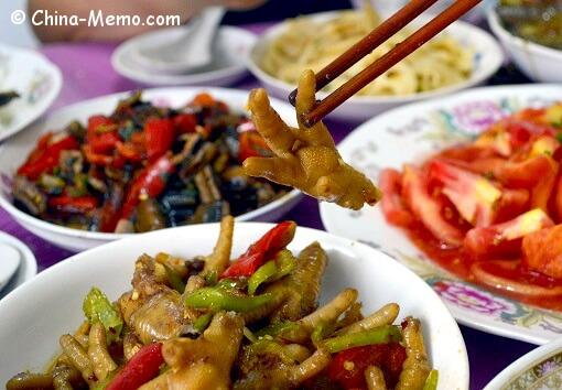 Chinese Chicken Feet Dish