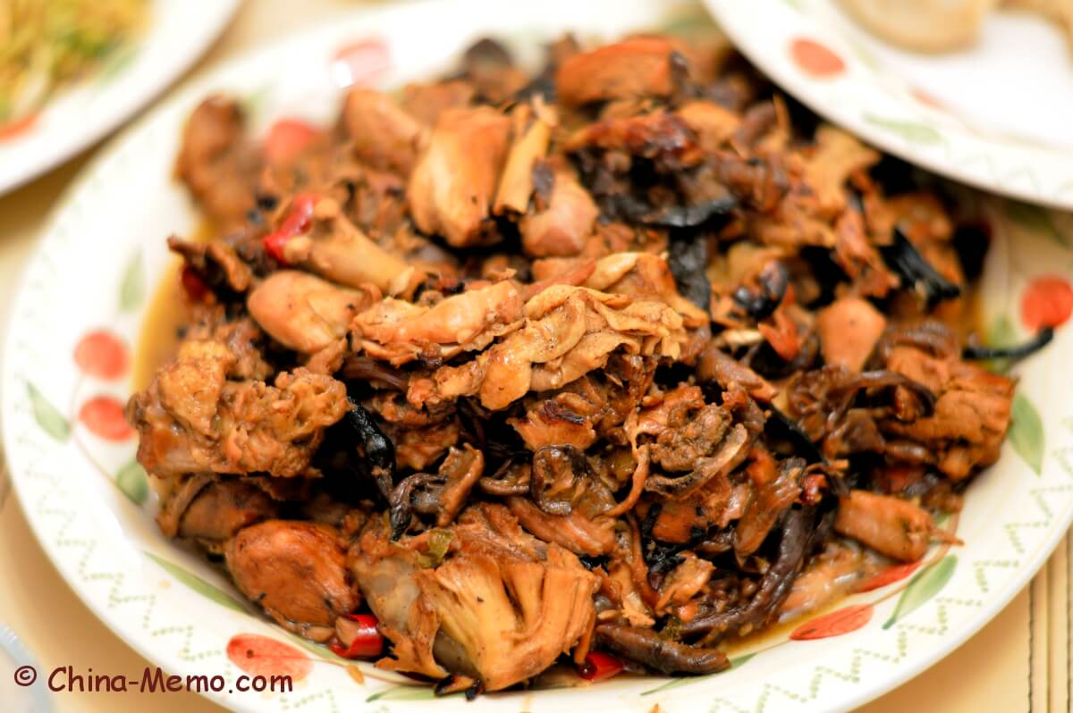 Chinese Chicken and Dry Mushrooms