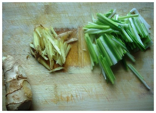 Chinese Ginger & Leek.