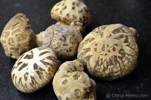 Chinese Dry Mushrooms.