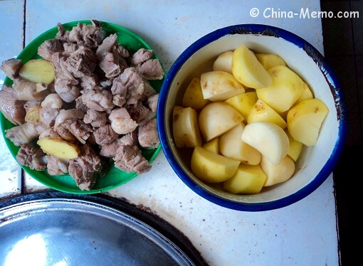 Chinese Duck and Potato
