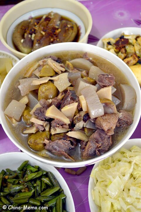 Chinese Duck Radish Soup