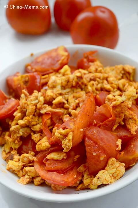 Chinese Egg Fried Tomato
