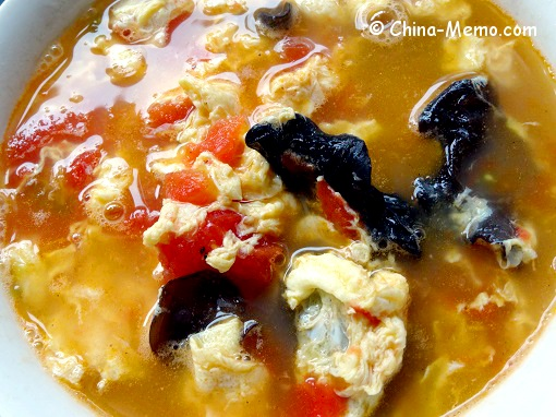 Chinese Egg Tomato Soup