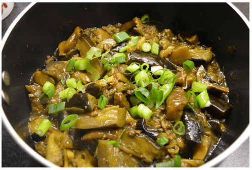 Chinese Eggplant Dry Mushrooms
