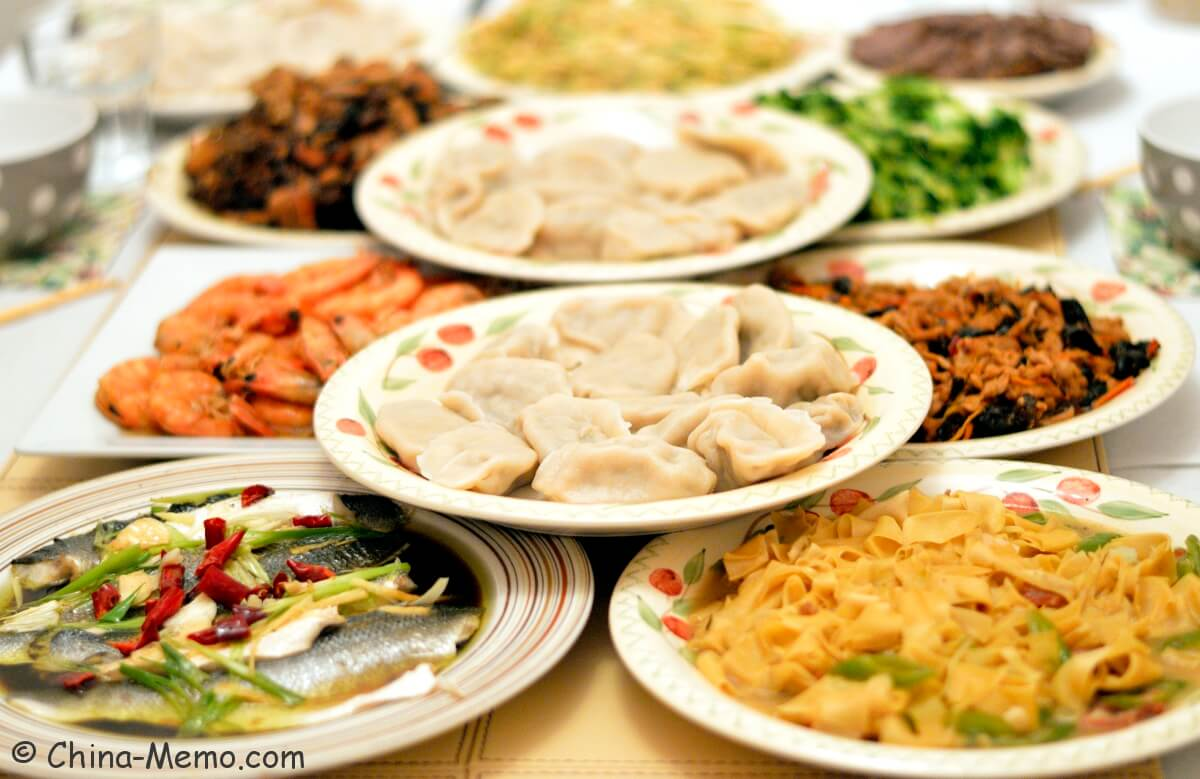 Chinese Food for Festivals