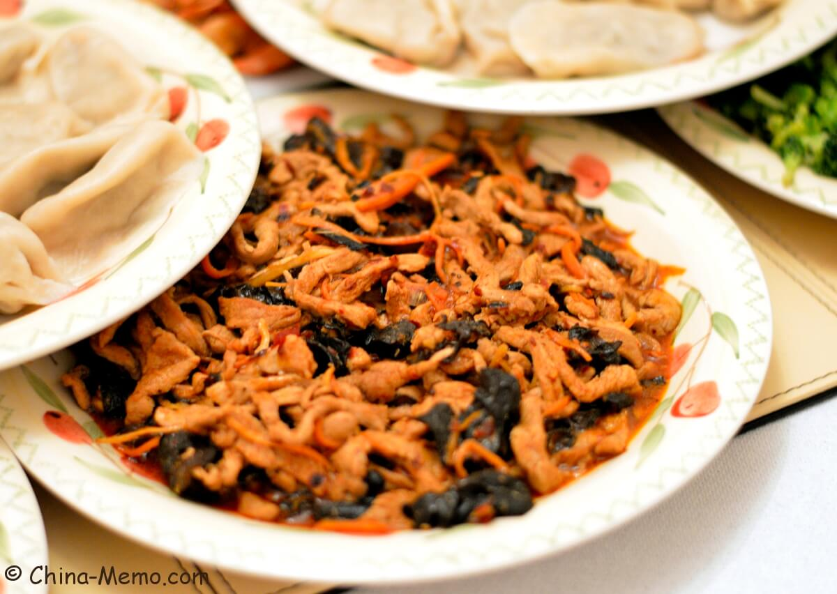 Chinese Fish-Flavored Shredded Pork