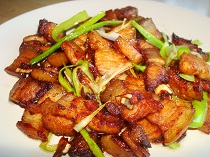 Chinese Twice Cooked Pork Belly