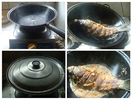 Chinese meat recipe red cooked carp for How long to air fry fish