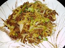 Chinese Pork Mince Potato