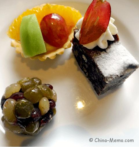 Chinese Fruit Dessert