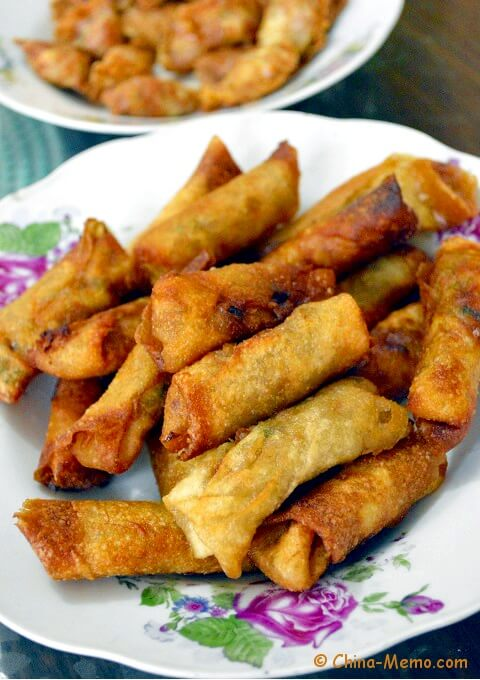 Chinese Homemade Spring Rolls