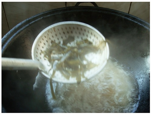 Chinese Kelp Boiled