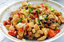 Chinese Kong Bao Chicken