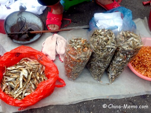 China Local Food Market Dried Fish