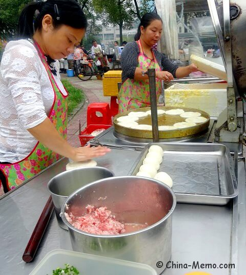 China Local Stree Food Market Breakfast