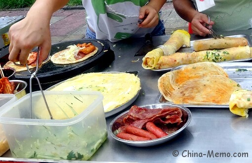 China Local Street Food Market Breakfast
