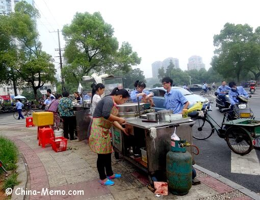 China Local Street Food Market Stalls
