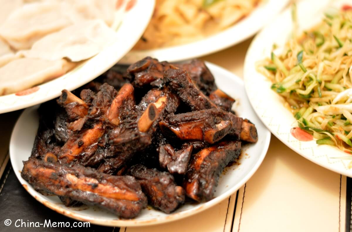 Chinese Red Cooked Spare Ribs