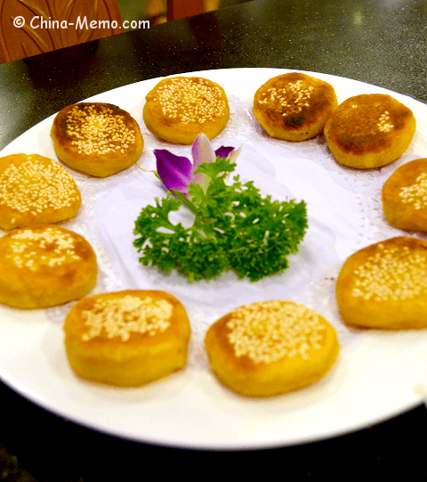 Chinese Sweet Treats: Pumpkin Cakes.