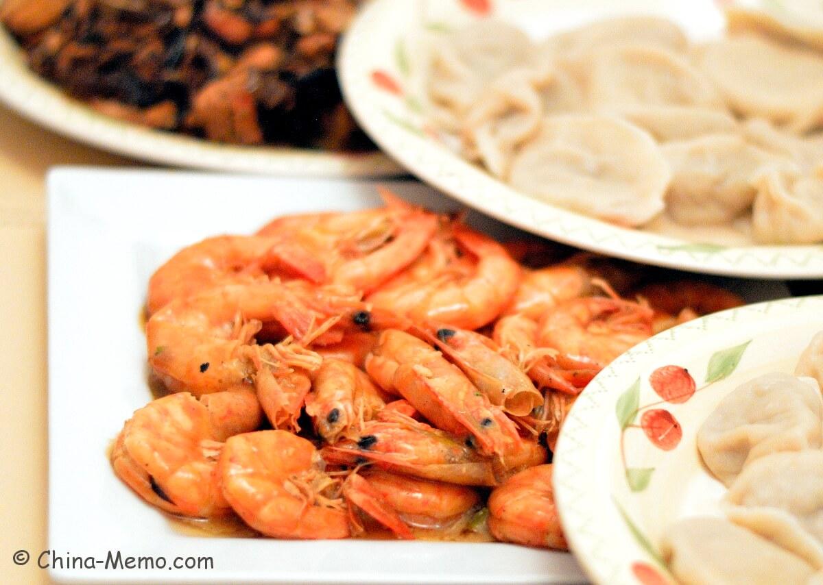 Chinese Prawn Dish