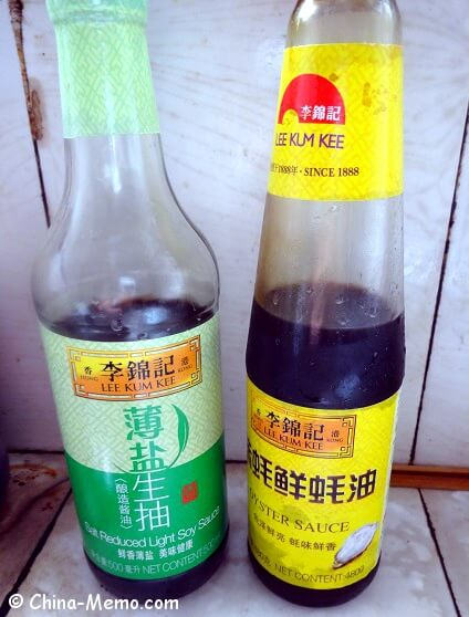 Chinese Light Soy Sauce & Oyster Sauce