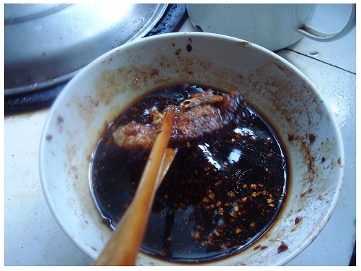 Chinese Homemade Fish Sauce.