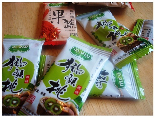 Chinese Snack Flavour Kiwi.