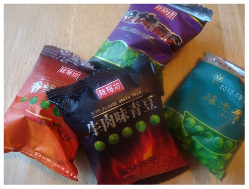 Chinese Snack Flavour Peas.