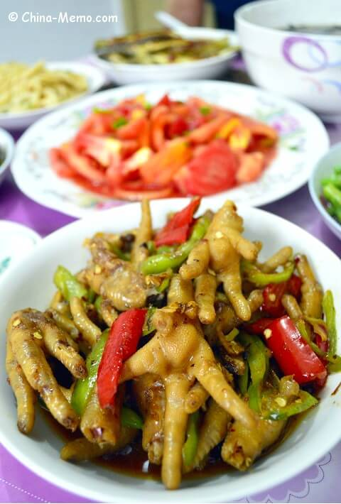 Chinese Spicy Chicken Feet