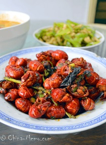 Chinese Spicy Lobsters
